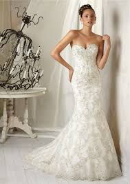 vintage mermaid sweetheart tulle lace beaded wedding dress with