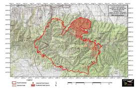 Usfs Fire Map Explosive Fire Growth U0027 Expected To Drive Out Of Control Canyon