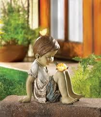 solar garden decor eco friendly way to decorate your garden
