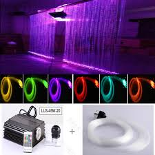 safely non electricity fiber optic led twinkling led