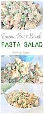 creamy bacon pea and ranch pasta salad u2013 quick and easy side dish