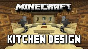 minecraft tutorial how to build a house part 12 kitchen design