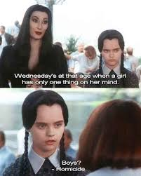 Thanksgiving Movie Quotes Best 20 Wednesday Addams Meme Ideas On Pinterest Adams Family