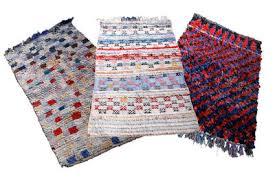 vintage boucherouite rug multicolour by hay