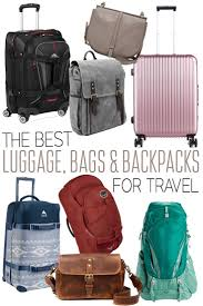 best travel luggage images The best luggage bags and backpacks for travel the blonde abroad jpg