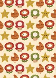 mario wrapping paper mario items by louis ros displate