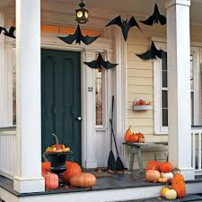home made halloween decorations patio ideas outdoor halloween decoration ideas homemade awesome