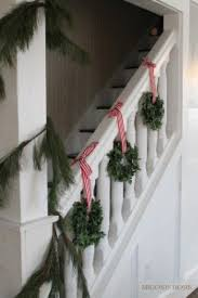 Decorating Banisters For Christmas How To Decorate A Staircase Railing For Christmas