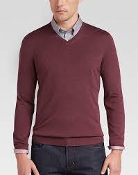 v neck sweater s joseph abboud rosewood v neck merino wool sweater s sweaters