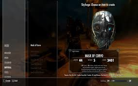 Dishonored Mask Mask Of Corvo At Skyrim Nexus Mods And Community