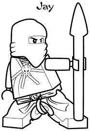 jay ninjago coloring pages cartoon coloring pages of
