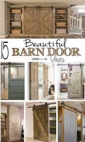 Barn Door For Closet The Master Bedroom Incorporates An Ingenious Barn Door Closet