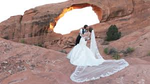 wedding arches national park joseph katy s arches national park wedding moab utah