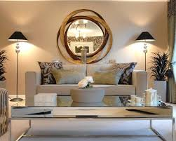 livingroom mirrors contemporary modern mirrors for living room image