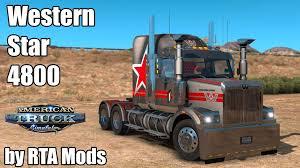 kenworth technical support western star 4800 truck by rta mods american truck simulator mod