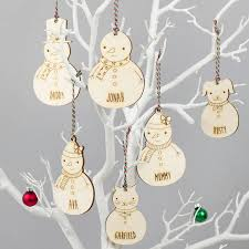 best collections of personalised christmas ornaments uk all can