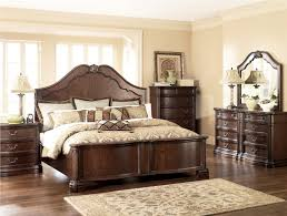 bedroom awesome north shore king sleigh bed in dark wood ashley