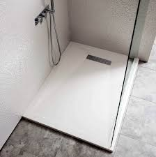 Shower Tray Simpsons 25mm Stone Resin Shower Tray With Linear Waste Uk Bathrooms