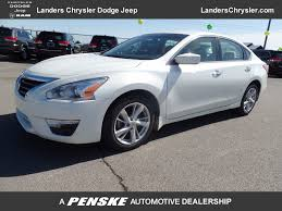 nissan altima sv 2013 2013 used nissan altima 4dr sedan i4 2 5 sv at landers chevrolet