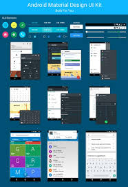 android gui designer 35 free android ui kit psd