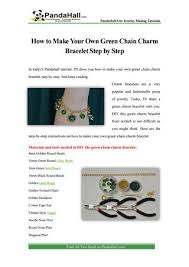 Pandahall Tutorial On How To Pandahall Tutorial On How To Make Golden Wire Wrapped And Chain
