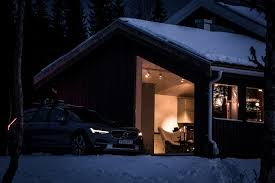 volvo sweden design volvo get away lodge in sweden