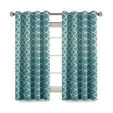 Moroccan Print Curtain Panels by Moroccan Quatrefoil Blackout Curtains Premier Home Decor