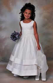 holy communion dress sweetie pie communion dress 106 length classic white peau