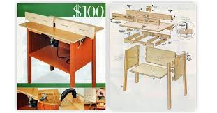 simple router table plans free 28 images easy router table
