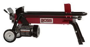 black friday log splitter amazon com boss industrial es7t20 electric log splitter 7 ton