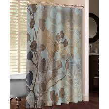Spa Shower Curtain Lauralhome Spa Blue And Gold Shower Curtain Reviews Wayfair