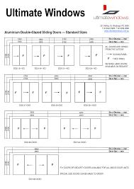 standard sliding door width great sliding closet doors for sliding