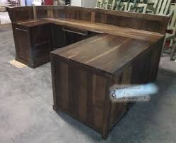 podium style reception desk lonestar southwestern reception desks