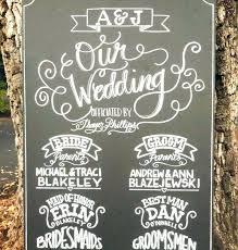 chalkboard wedding programs chalkboard wedding program emakesolutions