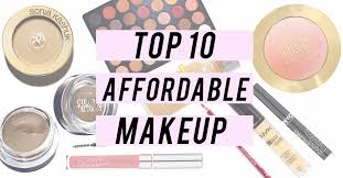affordable makeup budget beauty top 10 affordable makeup products the daily crisp