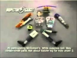 mcdonald u0027s ad inspector gadget 1999