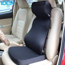 Back And Seat Cushion Car Seat Support For Back Pain The Best Car Seat Cushions For Long