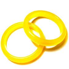yellow bangle bracelet images Yellow agate bangle bracelet whitestone jewelry co jpg