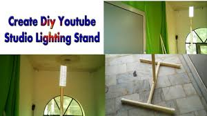 cheap studio lights for video how to create diy light stand for studio youtube studio cheapest