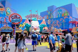Universal Studios Hollywood Map Fictional Springfield Comes Alive At Universal Studios Hollywood
