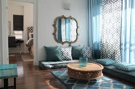 Moroccan Style Living Room Decor Bedroom Classy Moroccan Style Living Room With L Shape Tufted Best