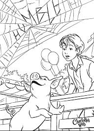 Charlottes Web Coloring Pages Many Interesting Cliparts Web Coloring Pages