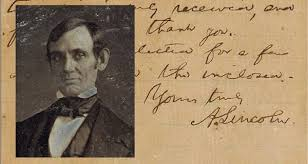 one of abraham lincoln u0027s