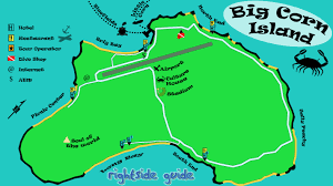 Map Of Caribbean Island by Maps Of The Caribbean Coast Of Nicaragua Rightsideguide Com