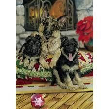 german shepherd christmas cards the danbury mint