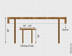 height of dining room table what is the ideal dining table and