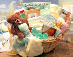 baby basket gifts deluxe welcome home new baby basket by gift baskets etc