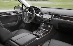volkswagen touareg interior 2015 volkswagen touareg facelift review gtspirit