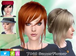 sims 4 hair cc emma s simposium free sims 4 hair pack 049 by newsea gifted