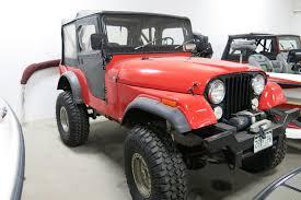 cj jeep interior 1975 jeep cj 5 my classic garage